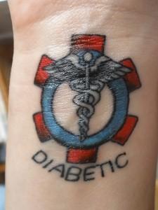 Diabet si tatuaje