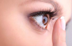 Retinopatia diabetica tratata cu lentile de contact
