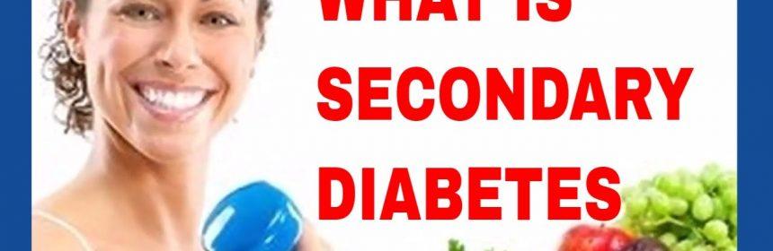 Forme de diabet zaharat secundar